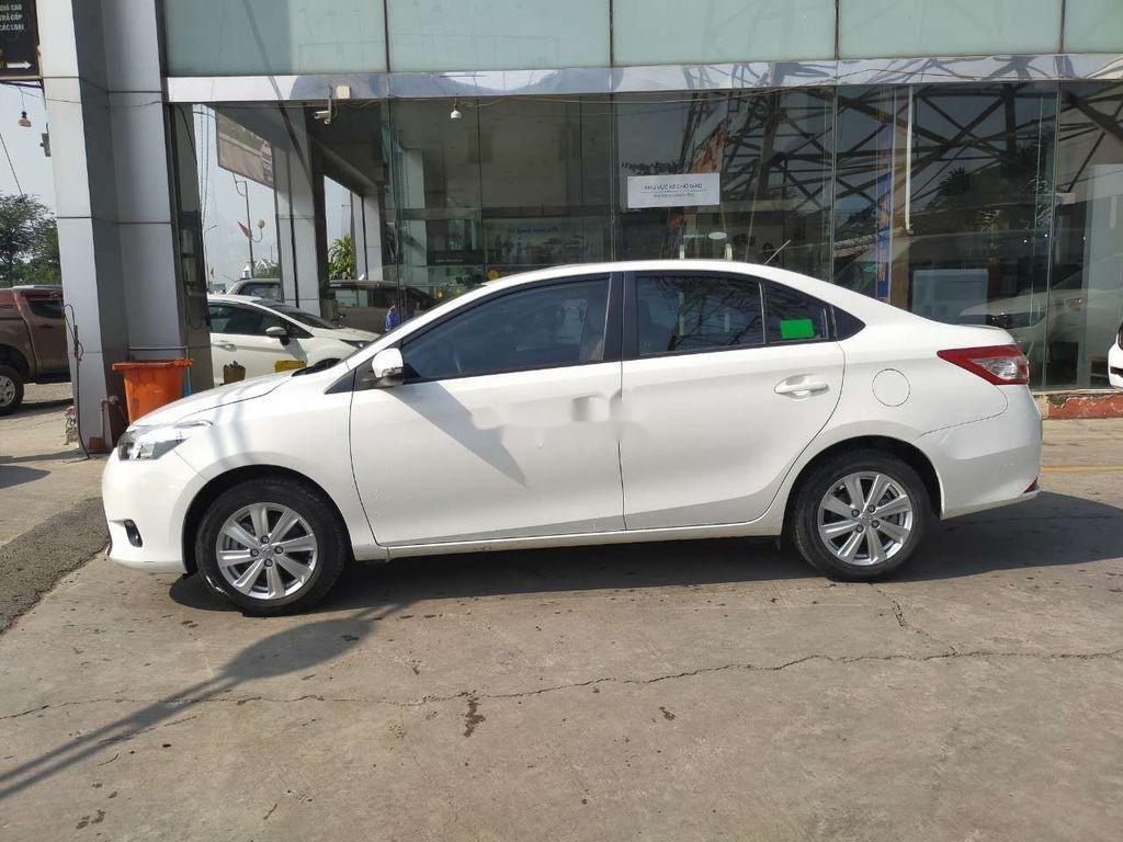 Bán Toyota Vios 1.5E sản xuất 2018, màu trắng (3)