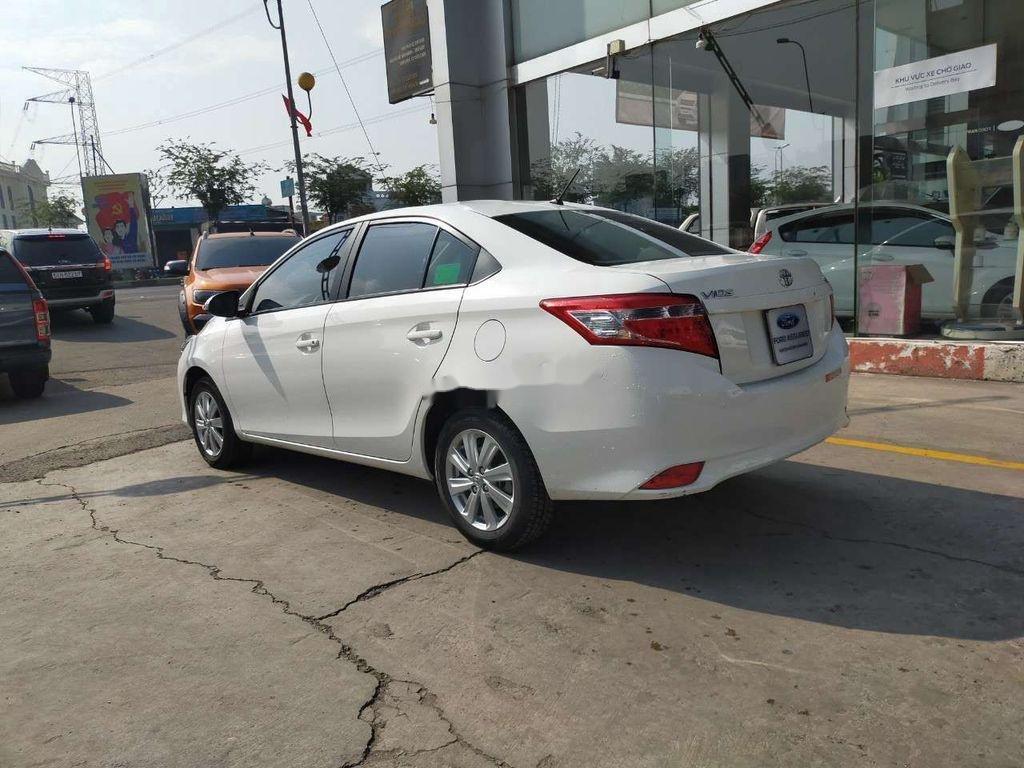 Bán Toyota Vios 1.5E sản xuất 2018, màu trắng (4)