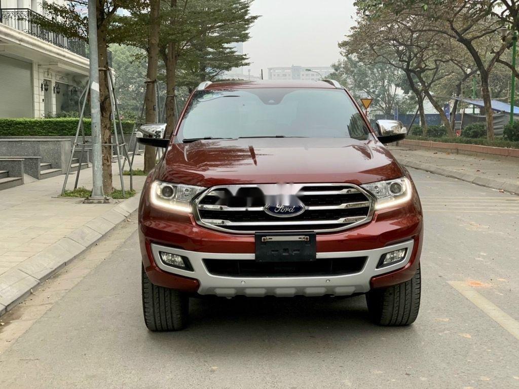 Bán ô tô Ford Everest 2019, màu đỏ, nhập khẩu  (1)