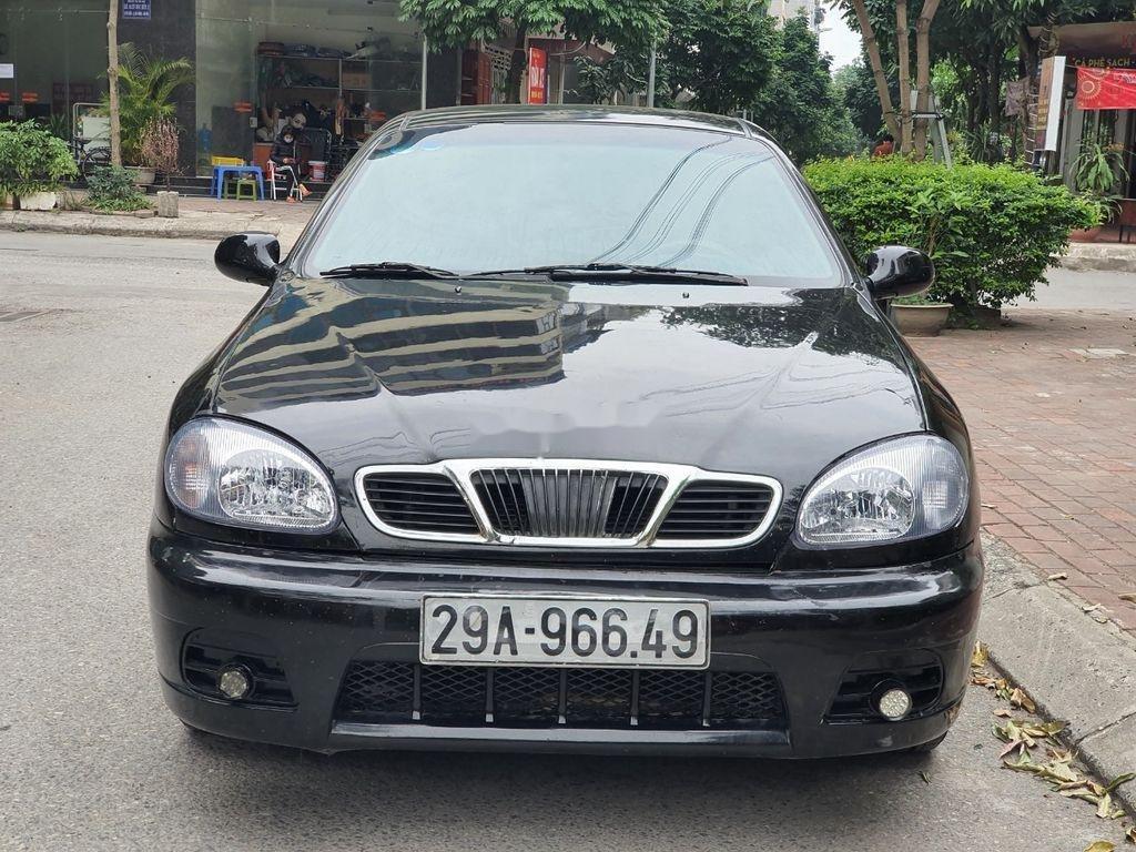 Bán Daewoo Lanos năm sản xuất 2003, màu đen, xe nhập  (3)