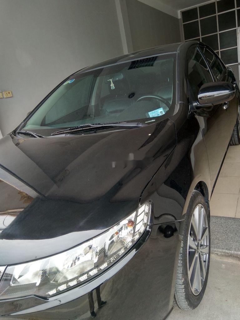 Bán xe Kia Forte đời 2013, màu đen, giá 375tr (1)