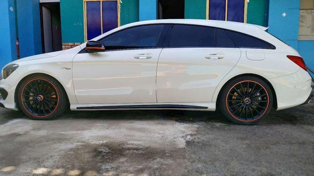 Cần bán xe Mercedes CLA 45 AMG đời 2015, màu trắng (2)