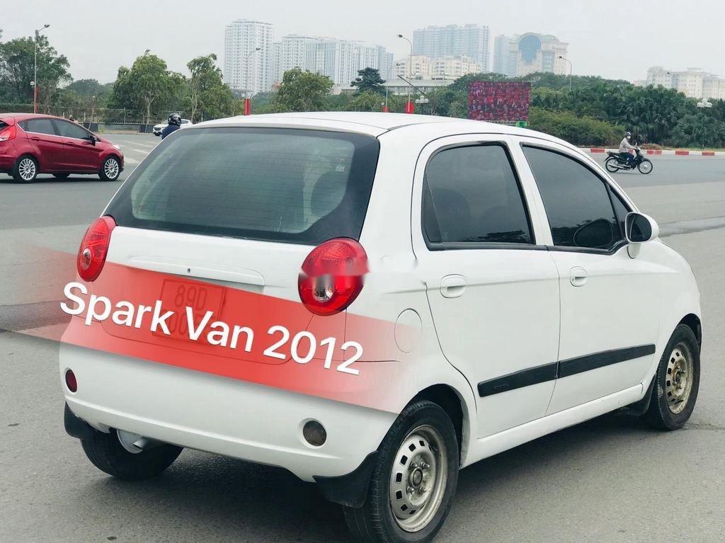 Bán Chevrolet Spark Van sản xuất năm 2012, màu trắng, giá 110tr (2)