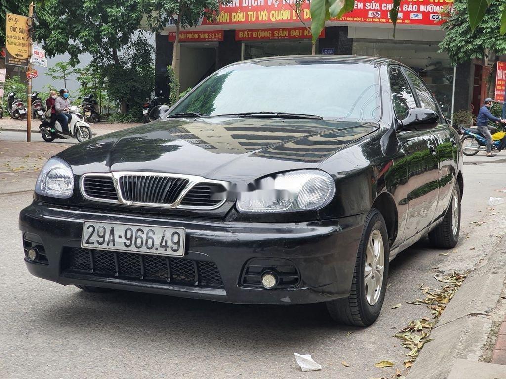 Bán Daewoo Lanos năm sản xuất 2003, màu đen, xe nhập  (5)