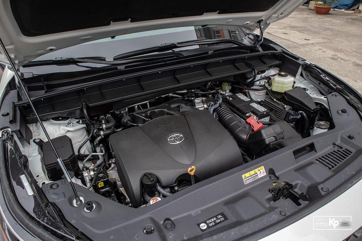 Ảnh Động cơ xe Toyota Highlander 2021