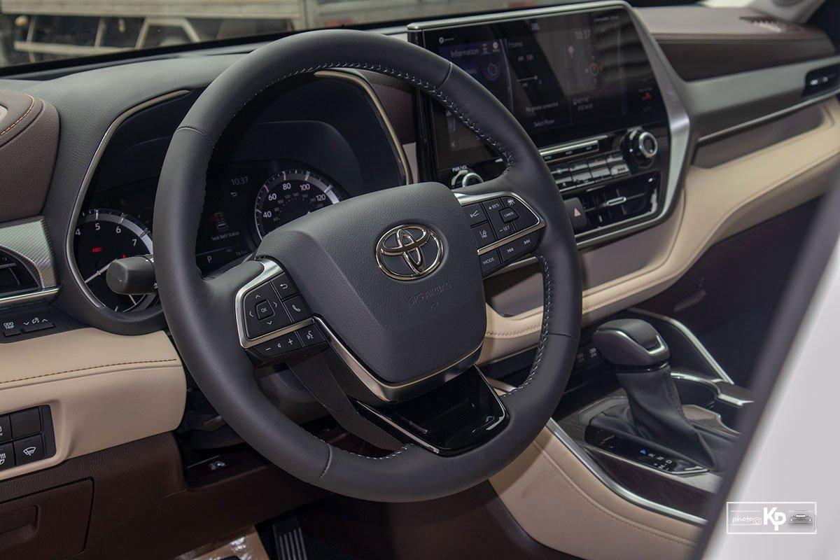 Ảnh Vô-lăng xe Toyota Highlander 2021