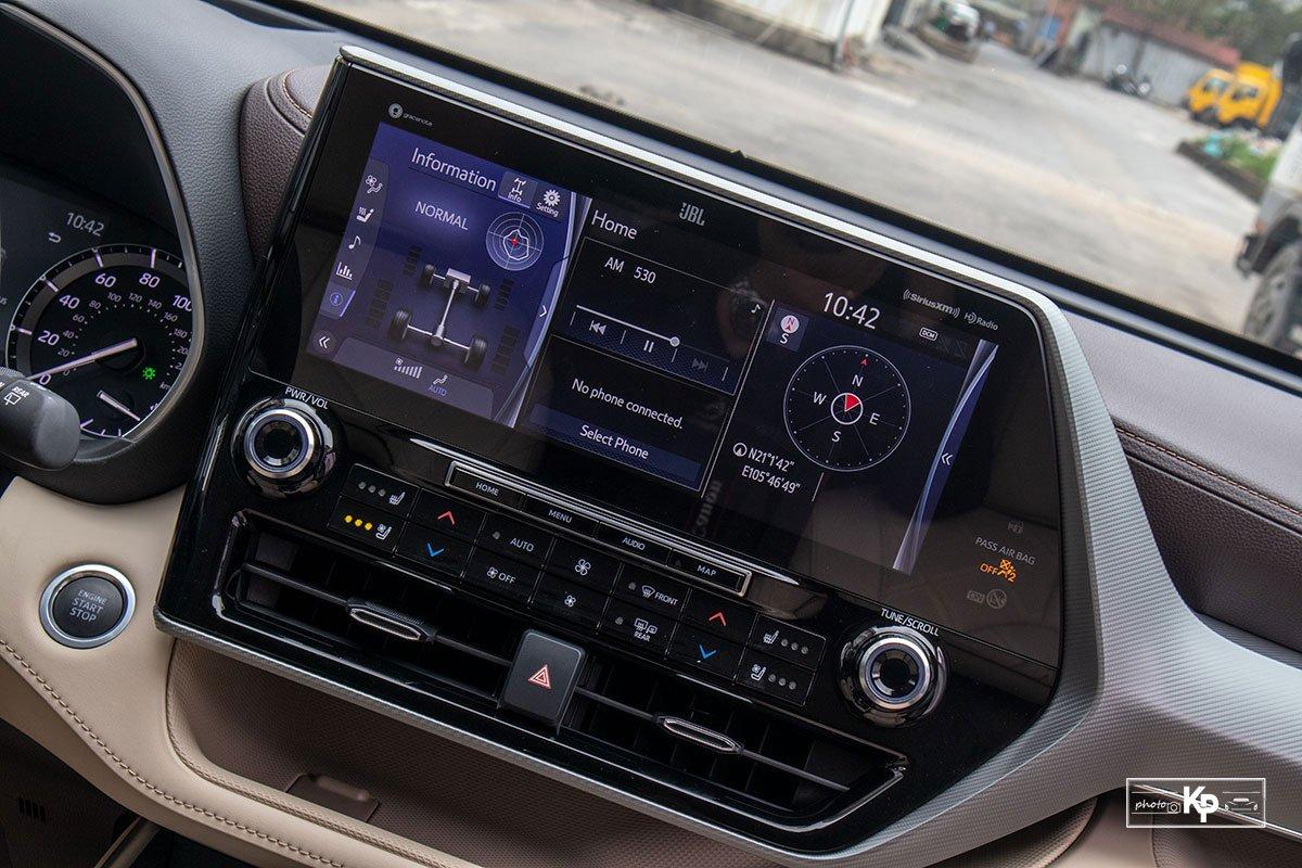 Ảnh Màn hình xe Toyota Highlander 2021