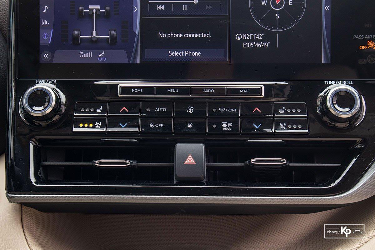Ảnh Điều hòa xe Toyota Highlander 2021
