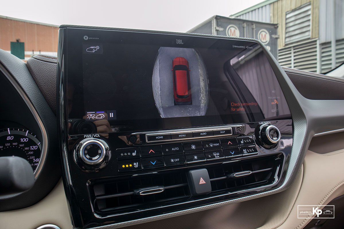 Ảnh An toàn xe Toyota Highlander 2021
