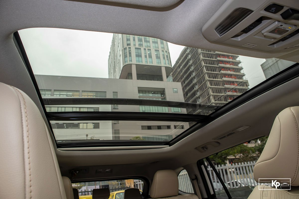 Ảnh Cửa sổ trời xe Toyota Highlander 2021