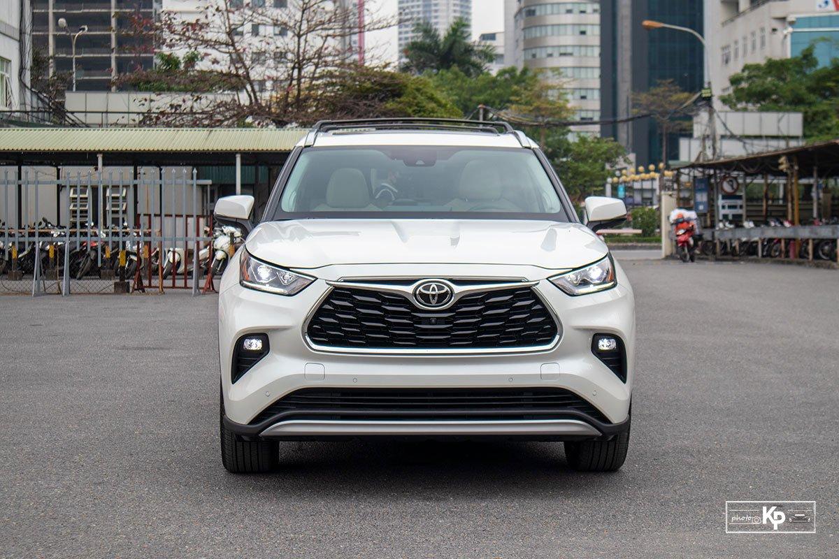 Ảnh Đầu xe Toyota Highlander 2021