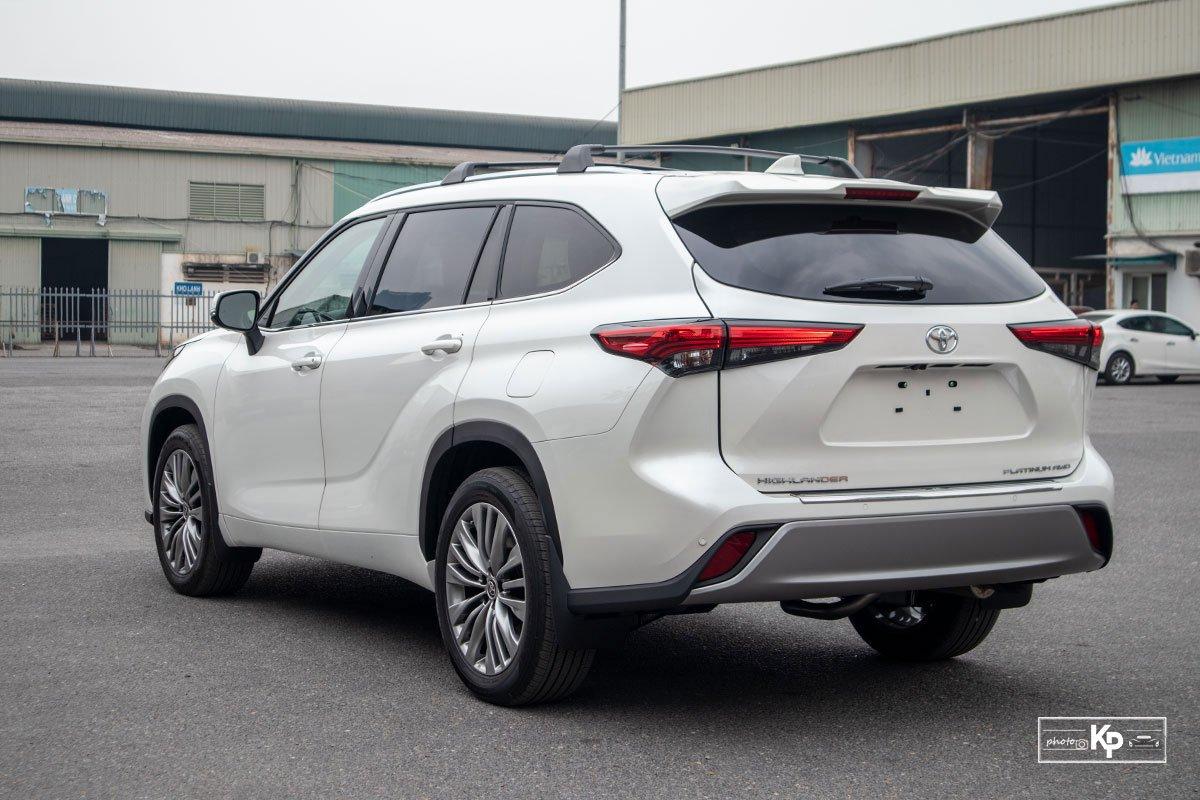 Ảnh Đuôi xe Toyota Highlander 2021