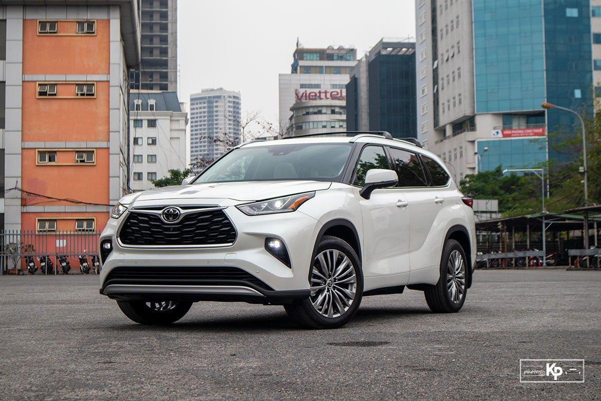 Ảnh giới thiệu xe Toyota Highlander 2021