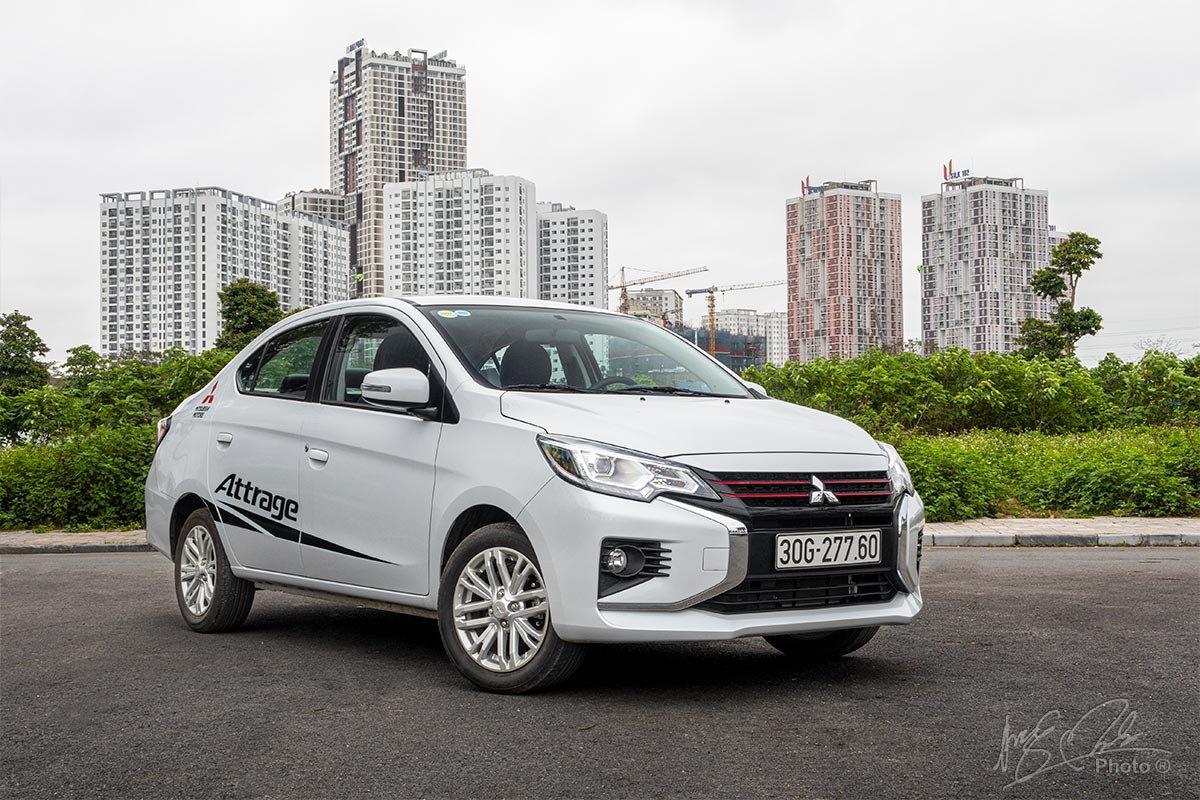 Mitsubishi Attrage 2021 đang bán tại Việt Nam 1