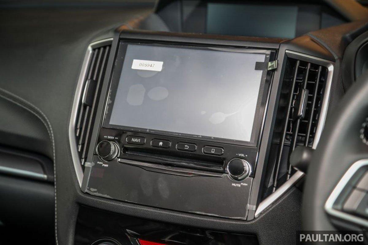 Màn hình 8 inch trên xe Subaru Forester 2.0i-L GT Lite Edition 2021 1