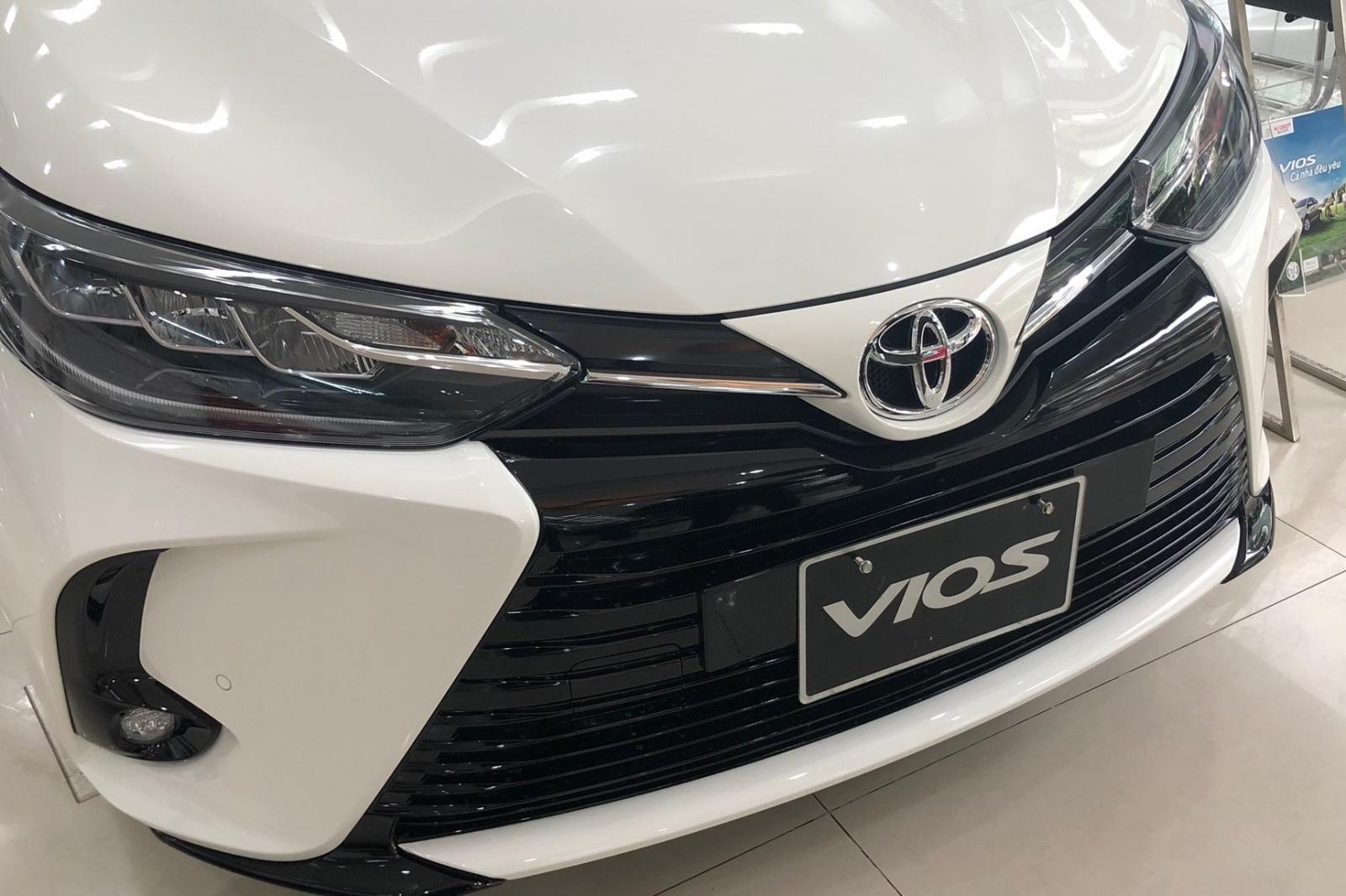 Thiết kế đầu xe Toyota Vios 2021 thực sựấn tượng. 1