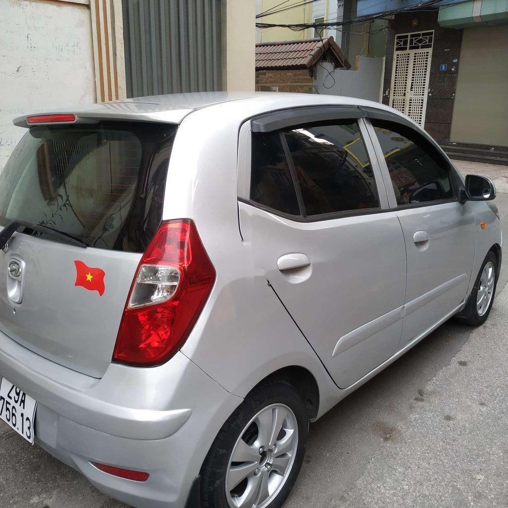 Bán xe Hyundai Grand i10 đời 2013, màu bạc, nhập khẩu  (1)