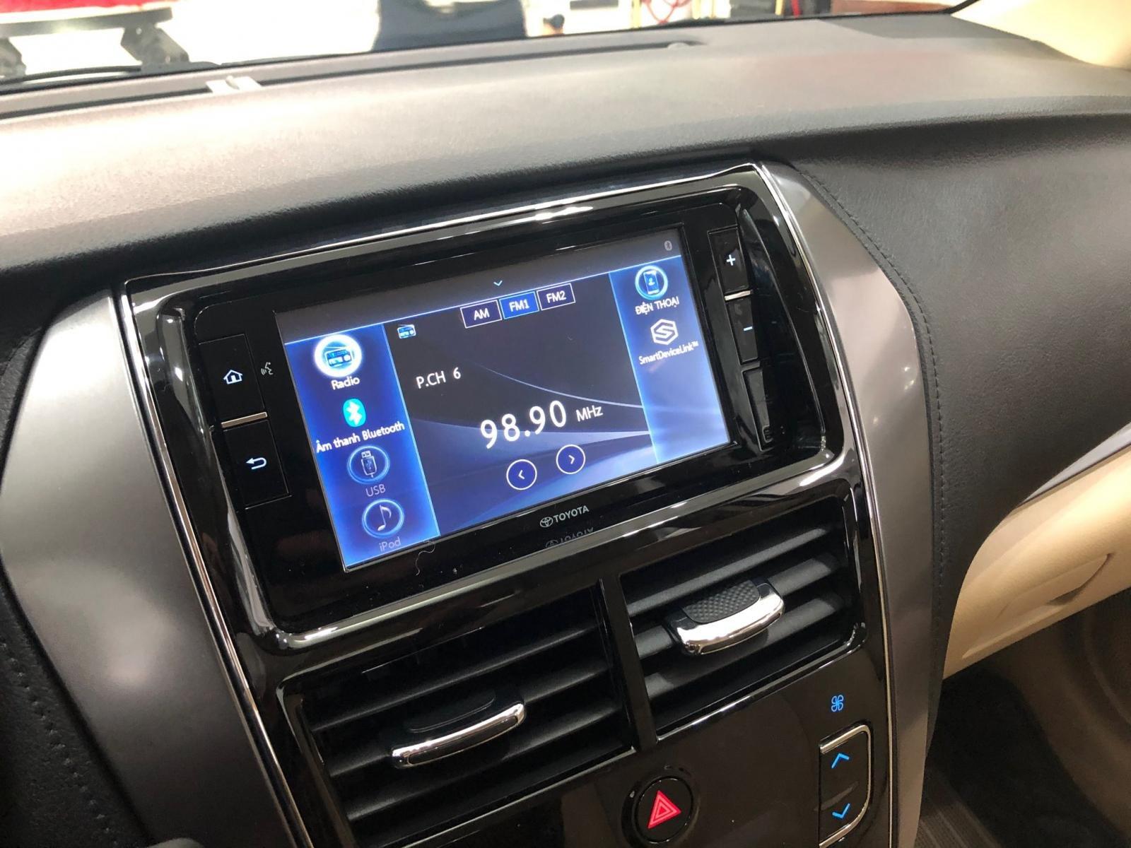 Nội thất Toyota Vios mới.