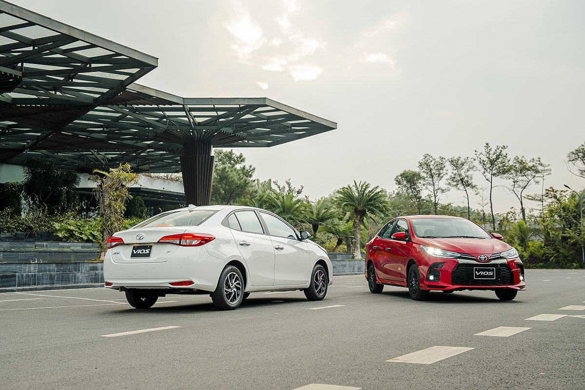 Thông số kỹ thuật xe Toyota Vios 2021 tại Việt Nam