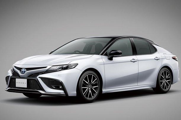 Hé lộ hình ảnh thiết kế Toyota Camry 2021 nâng cấp đăng kí bảo hộ tại Việt Nam.
