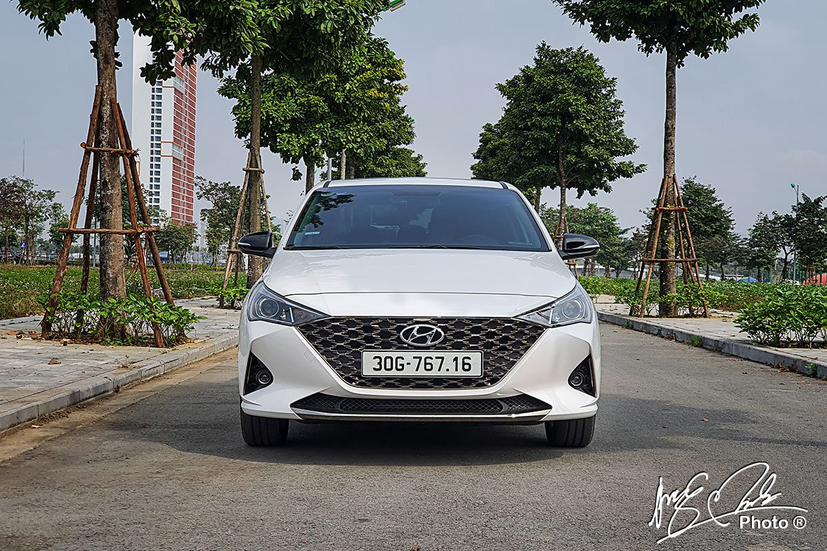 Ảnh đầu xe Hyundai Accent 2021 a1