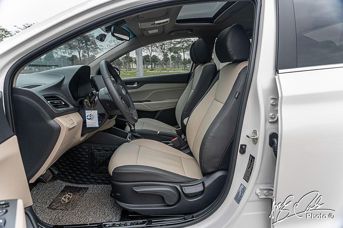 Ảnh Ghế trước xe Hyundai Accent 2021