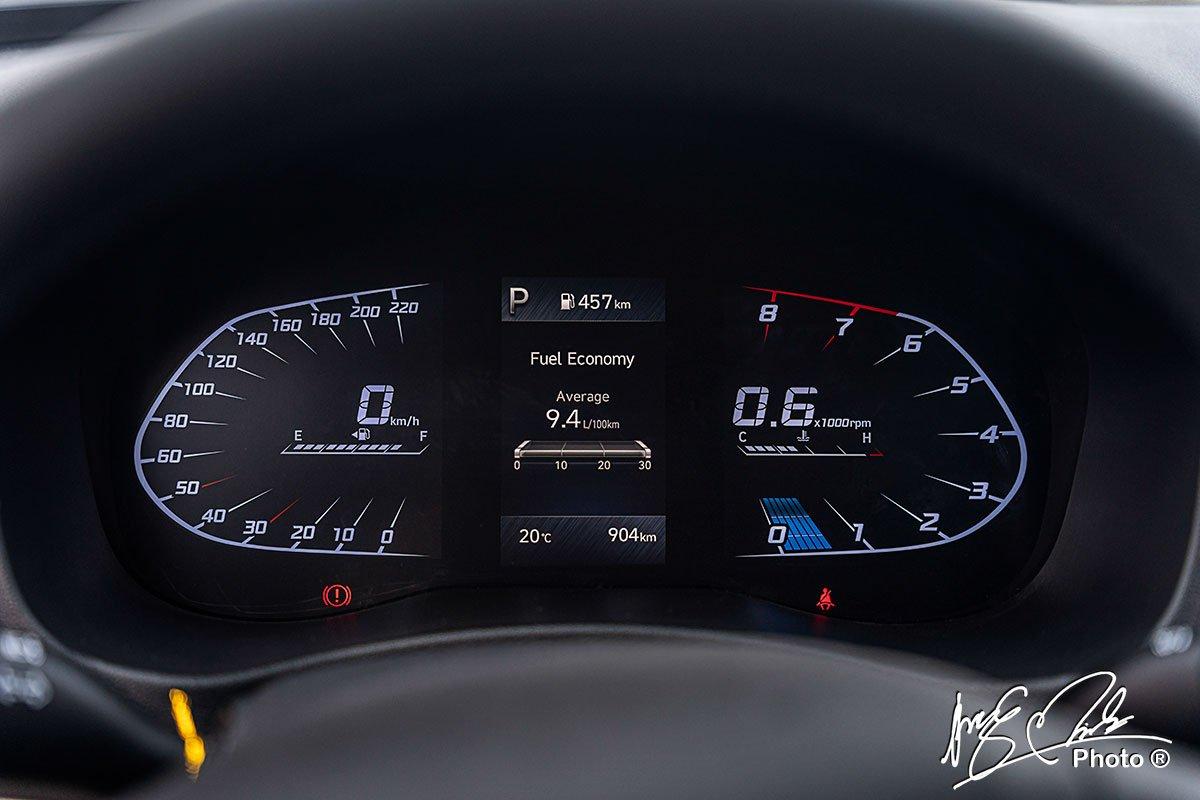 Ảnh Đồng hồ sau lái xe Hyundai Accent 2021