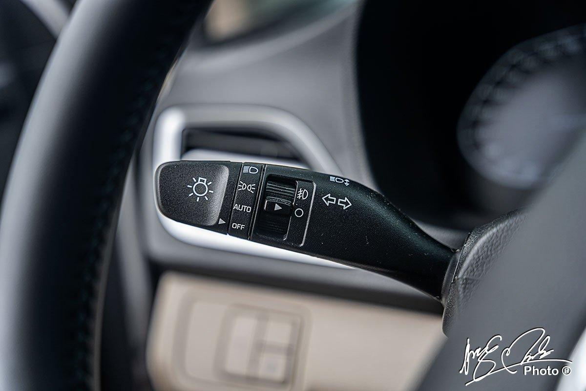 Đèn pha tự động trên Hyundai Accent 2021.