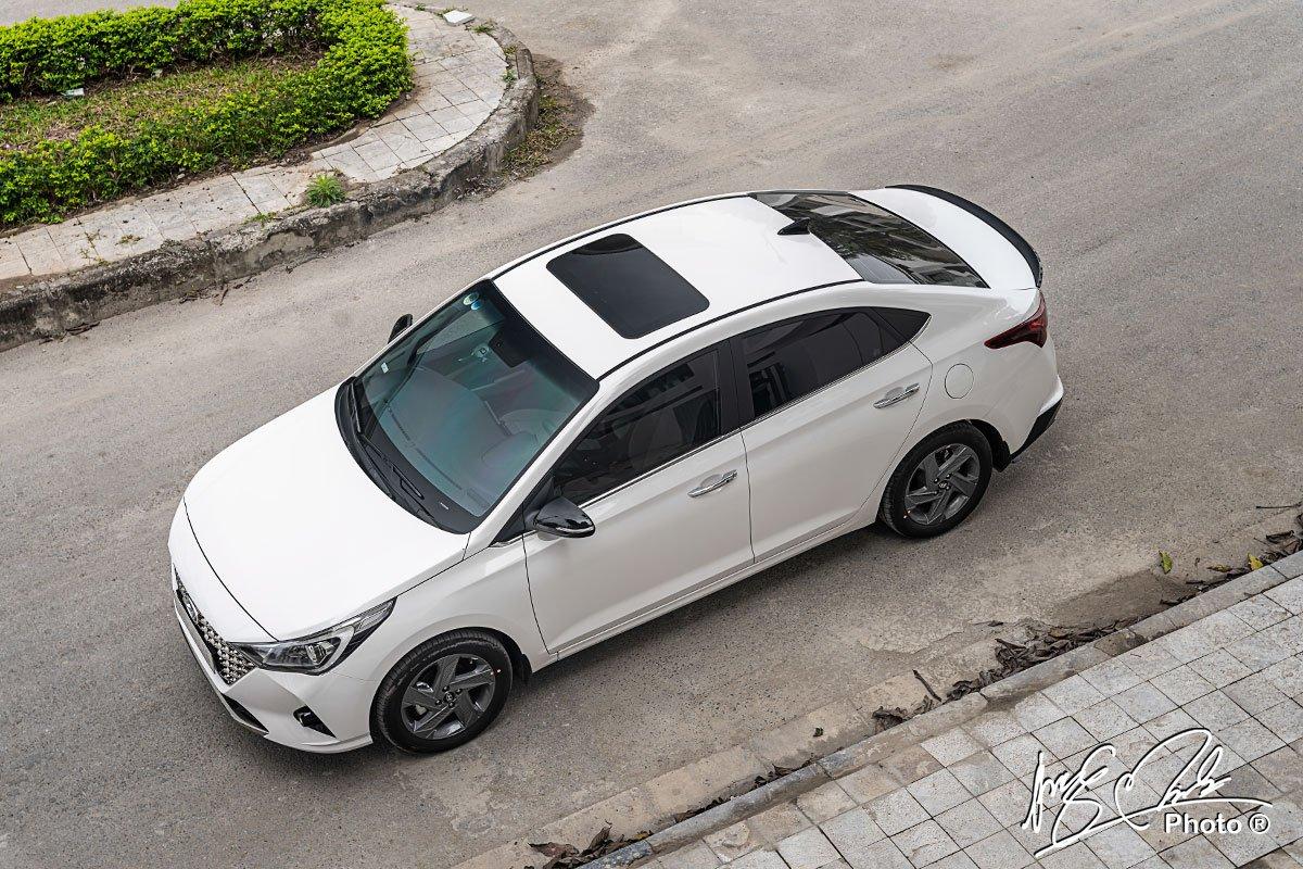 Ảnh tổng quát xe Hyundai Accent 2021