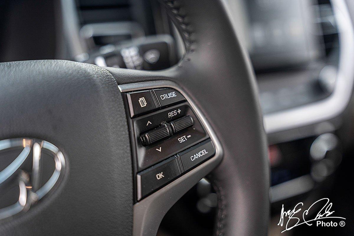 Kiểm soát hành trình trên Hyundai Accent 2021.