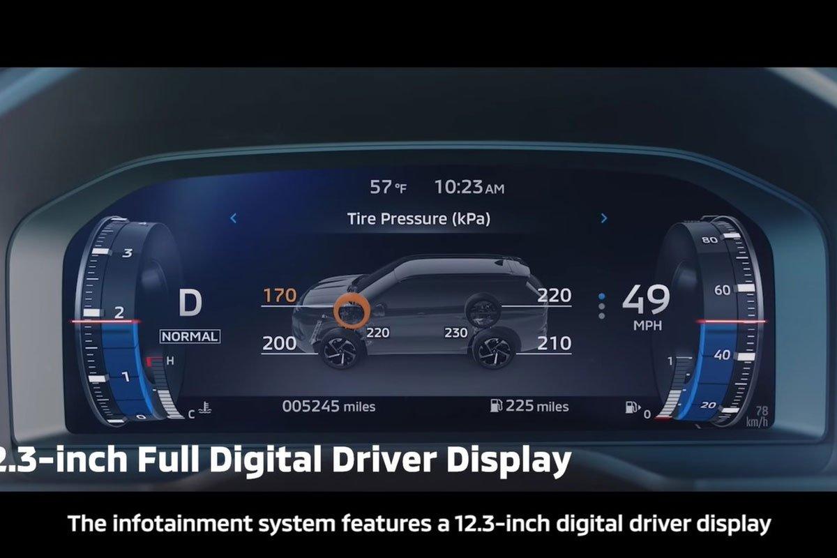 Ảnh Đồng hồ xe Mitsubishi Outlander 2022