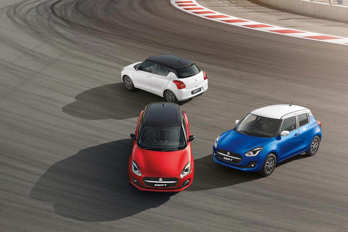 Suzuki Swift 2021 ra mắt Ấn Độ 1