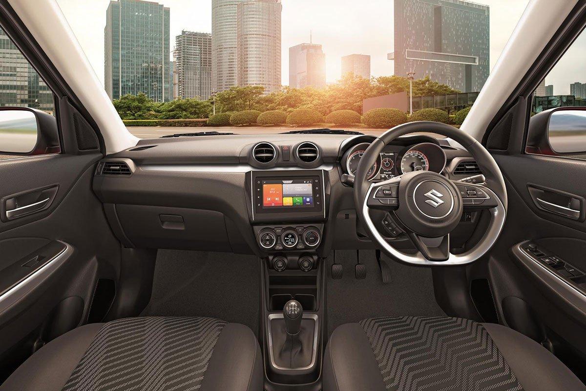Không gian nội thất Suzuki Swift 2021 1