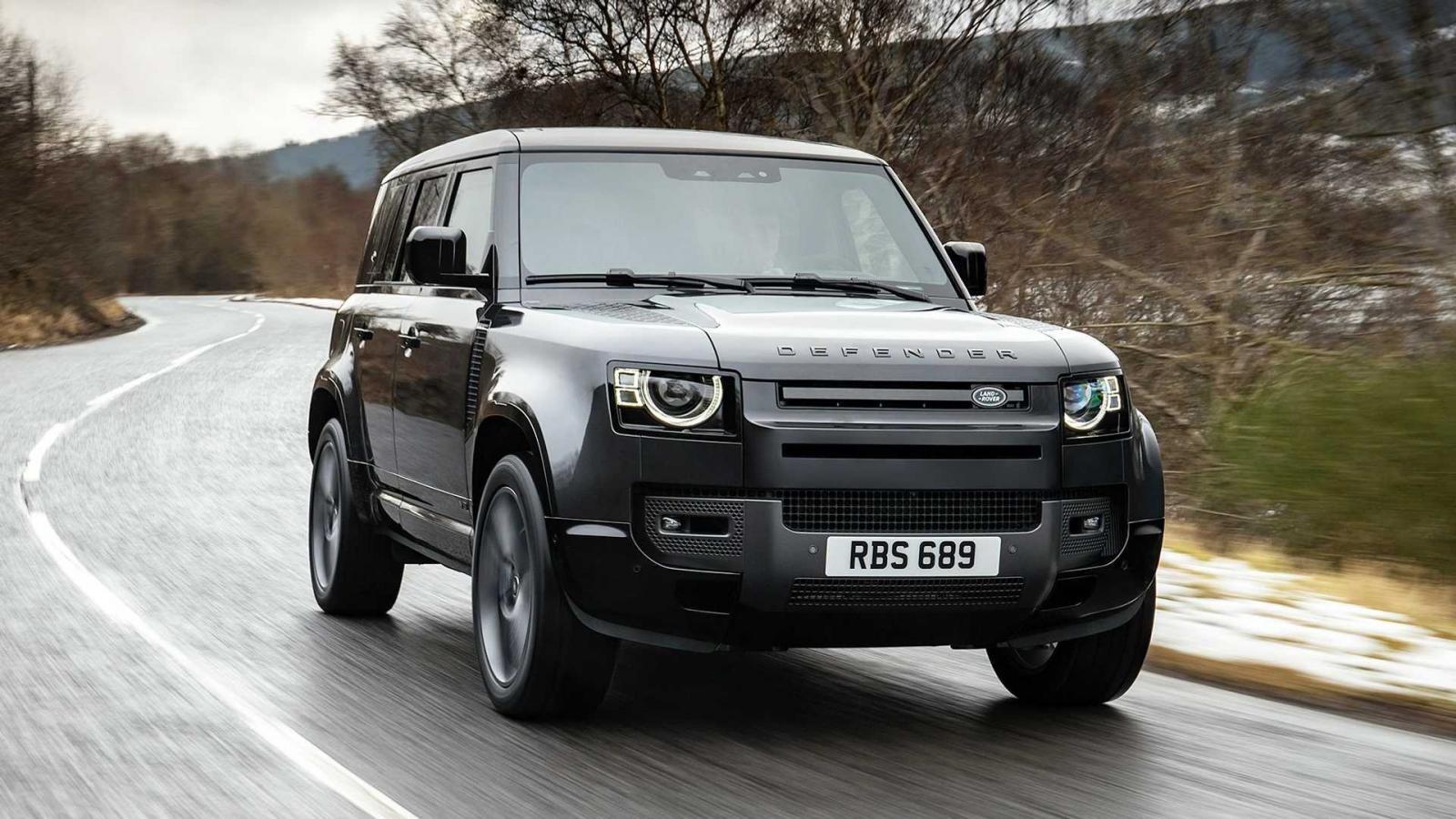 Land Rover Defender 2022 V8 bổ sung thêm phiên bản đặc biệt.