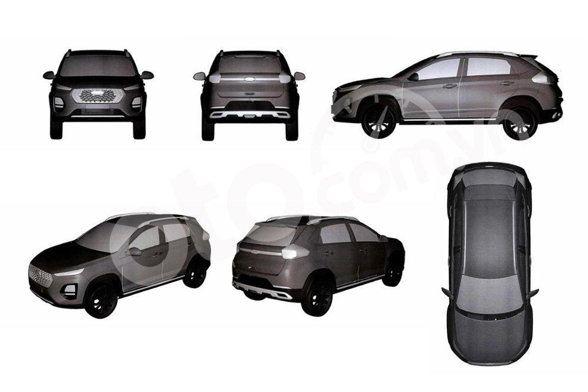 Thương hiệu xe Trung Quốc Chery liên tục đăng kí bảo hộ nhiều mẫu xe mới tại Việt Nam.