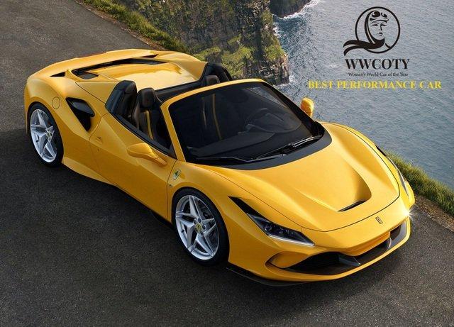 Ferrari F8 Spider - Xe thể thao xuất sắc nhất.