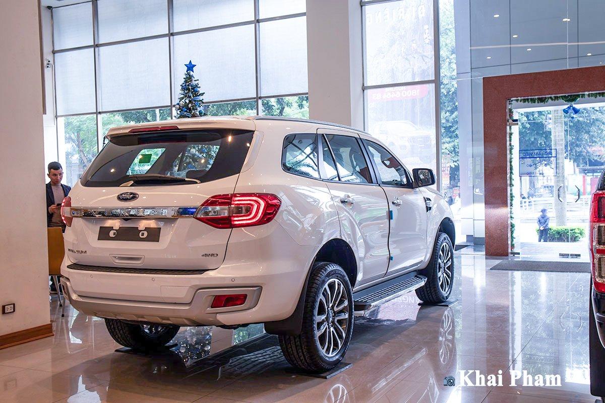 Ford Everest 2021 bị cắt giảm một số trang bị 1