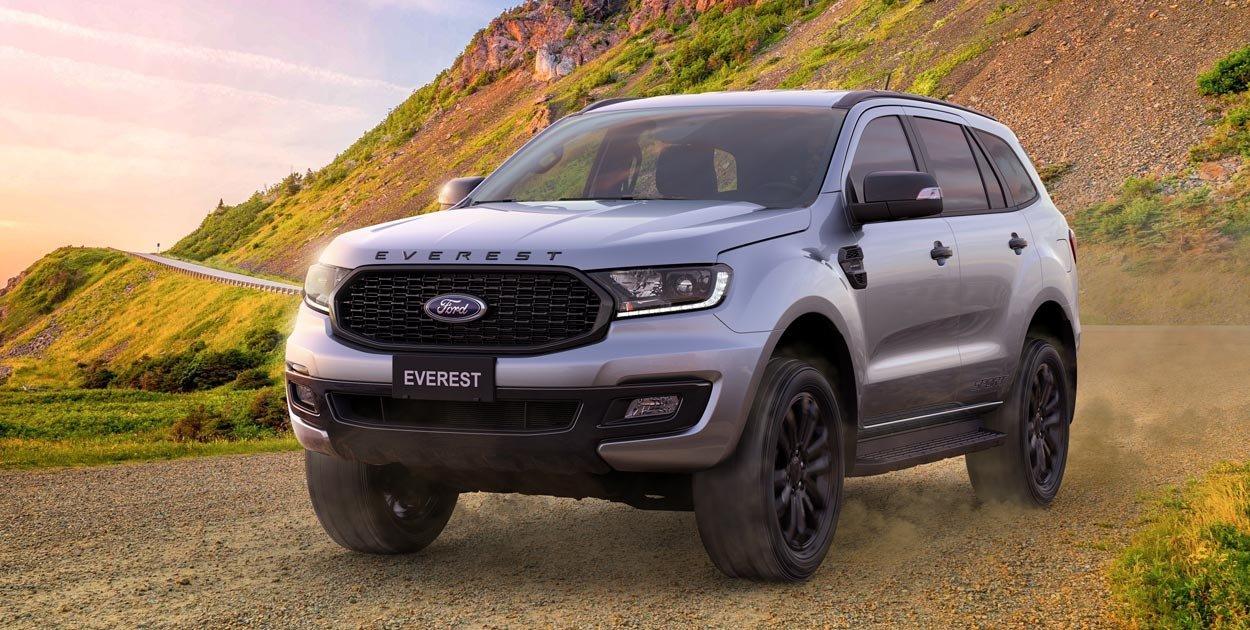 Giá xe Ford Everest 2021 mới nhất tại Việt Nam...