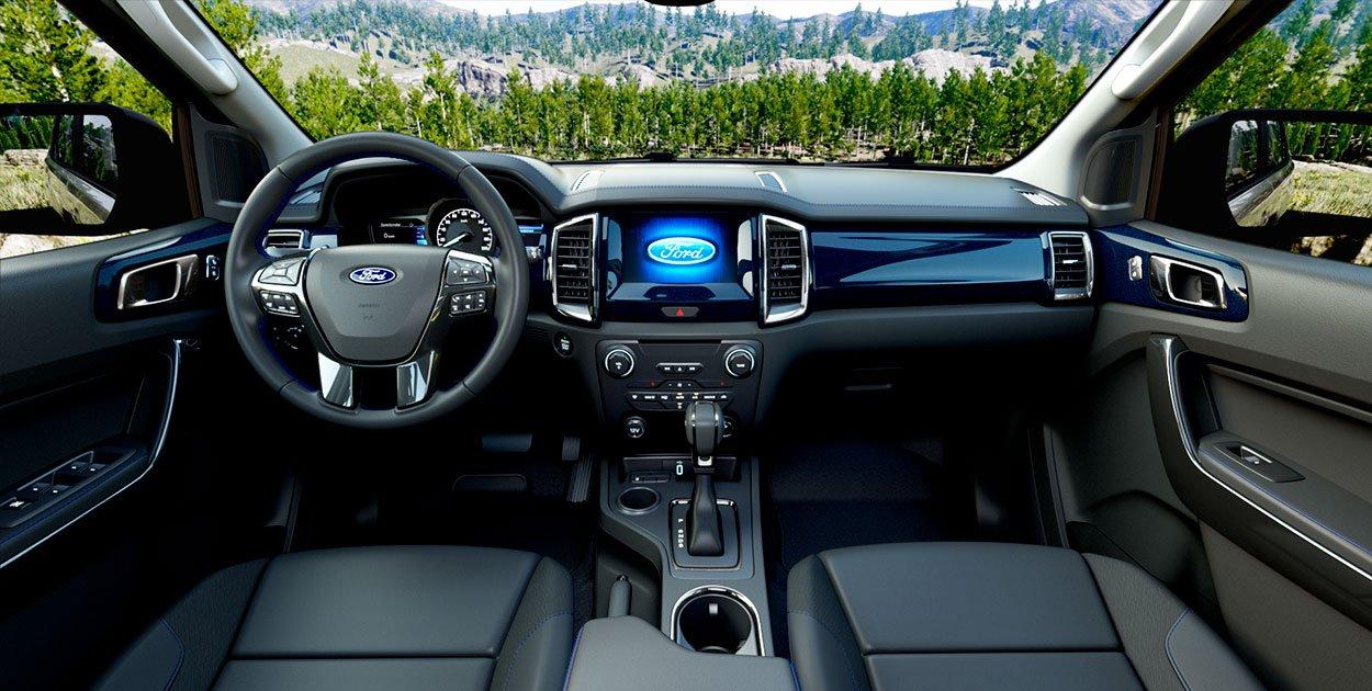 Nội thất xe Ford Everest 2021