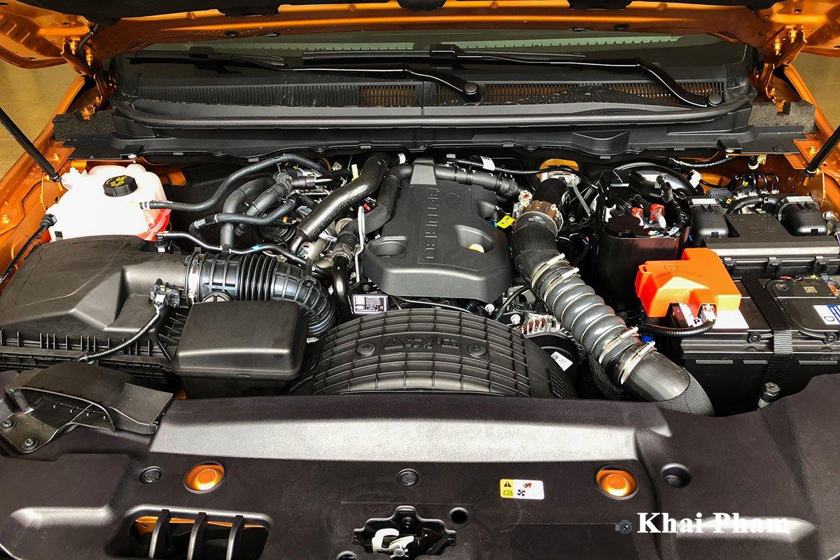 Khoang động cơ xe Ford Ranger 2021 1