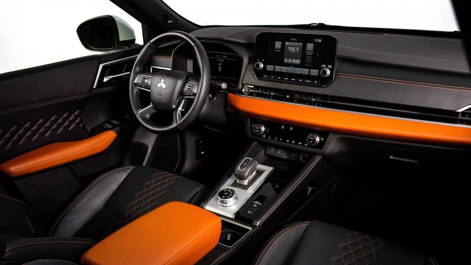 Mitsubishi Outlander 2022 mới hiện đại và hấp dẫn.