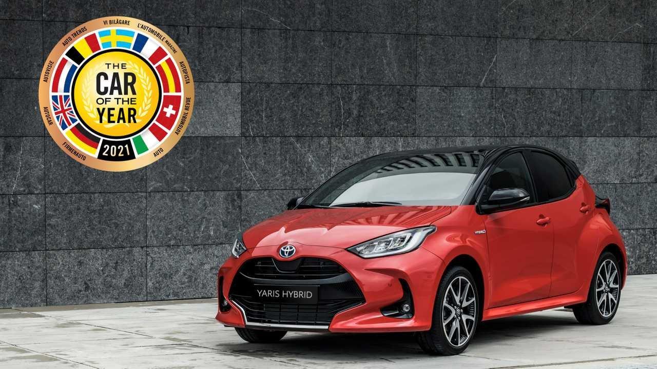Toyota Yaris tăng nhiệt cạnh tranh trong giải Xe thế giới của năm 2021.