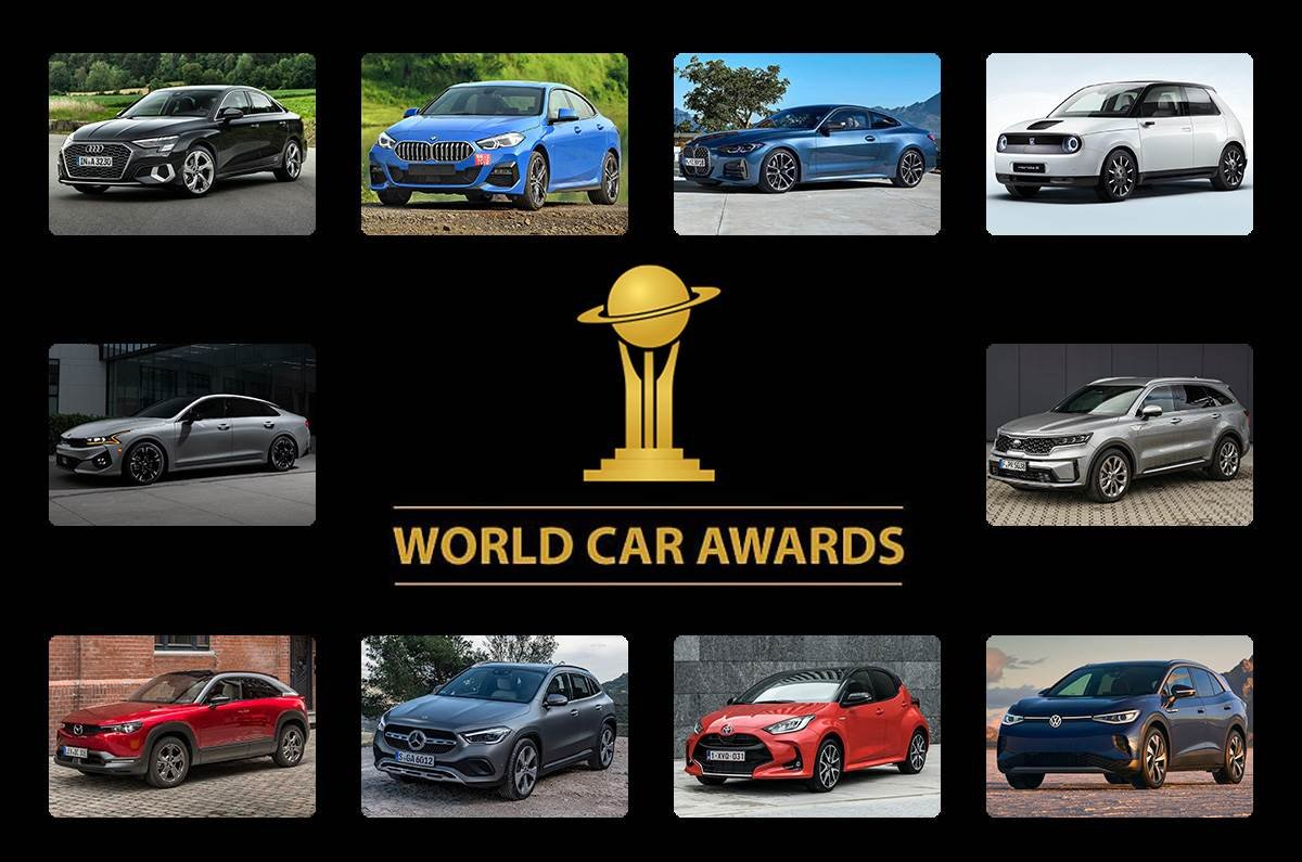 Toyota Yaris và Kia Sorento đấu xe sang giành giải Xe thế giới của năm 2021.