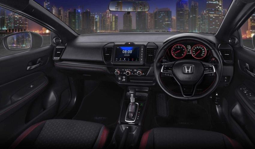 Honda City 2021 Hatchback RS tích hợp công nghệ hiện đại, tiện nghi.