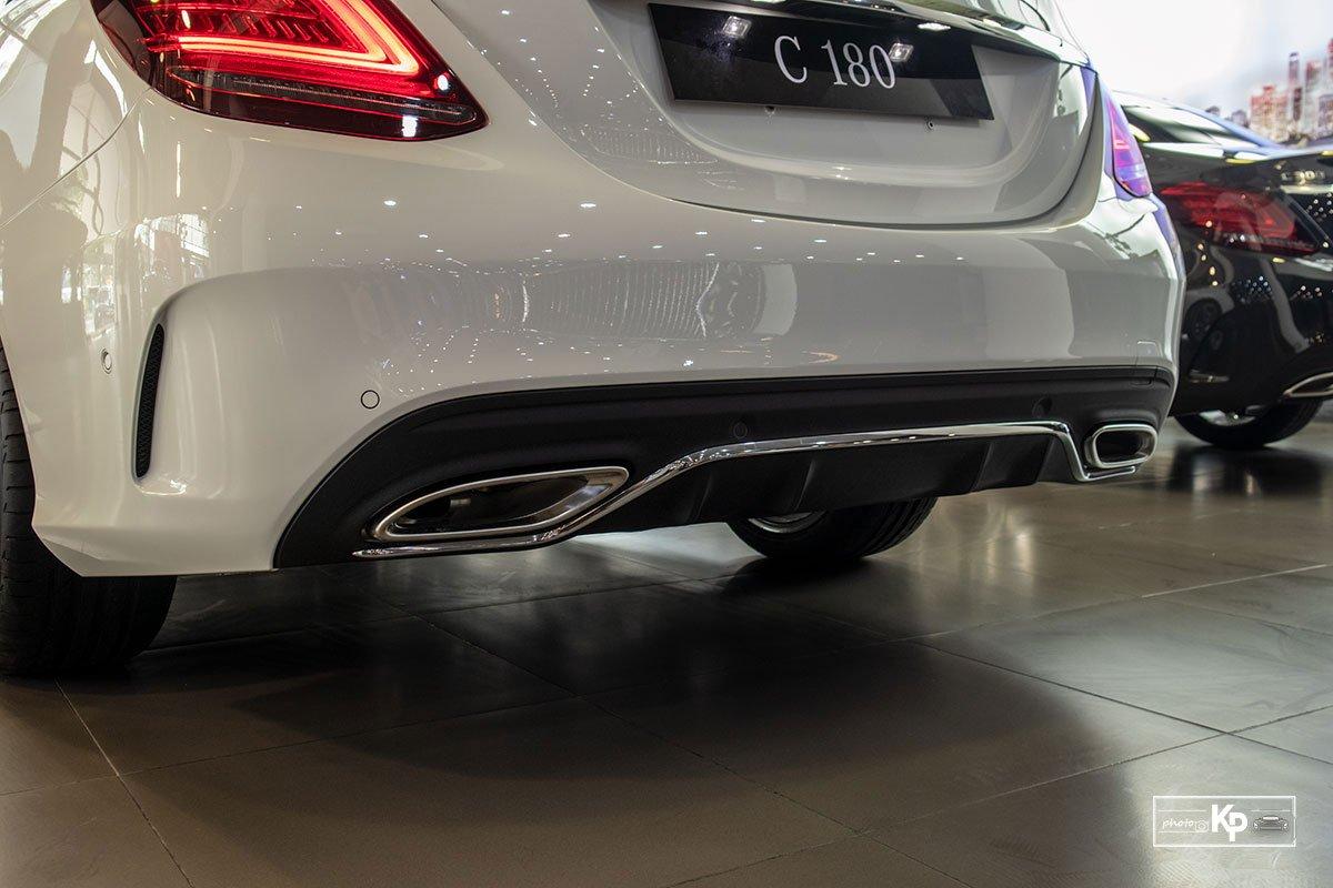 Ảnh Cản sau xe Mercedes-Benz C 180 AMG 2021