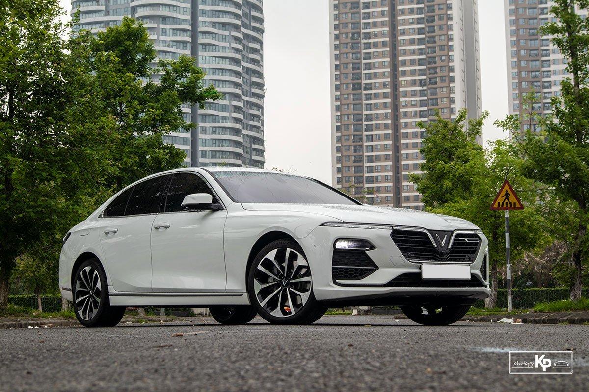 Ảnh giới thiệu xe VinFast Lux A2.0 2021