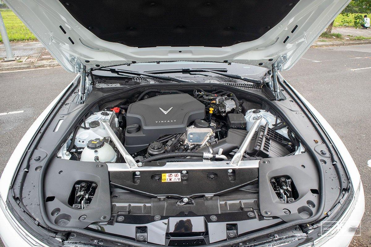 Ảnh Động cơ xe VinFast Lux A2.0 2021