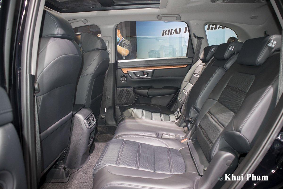 Ghế ngồi bọc da trên xe Honda CR-V 2021 1
