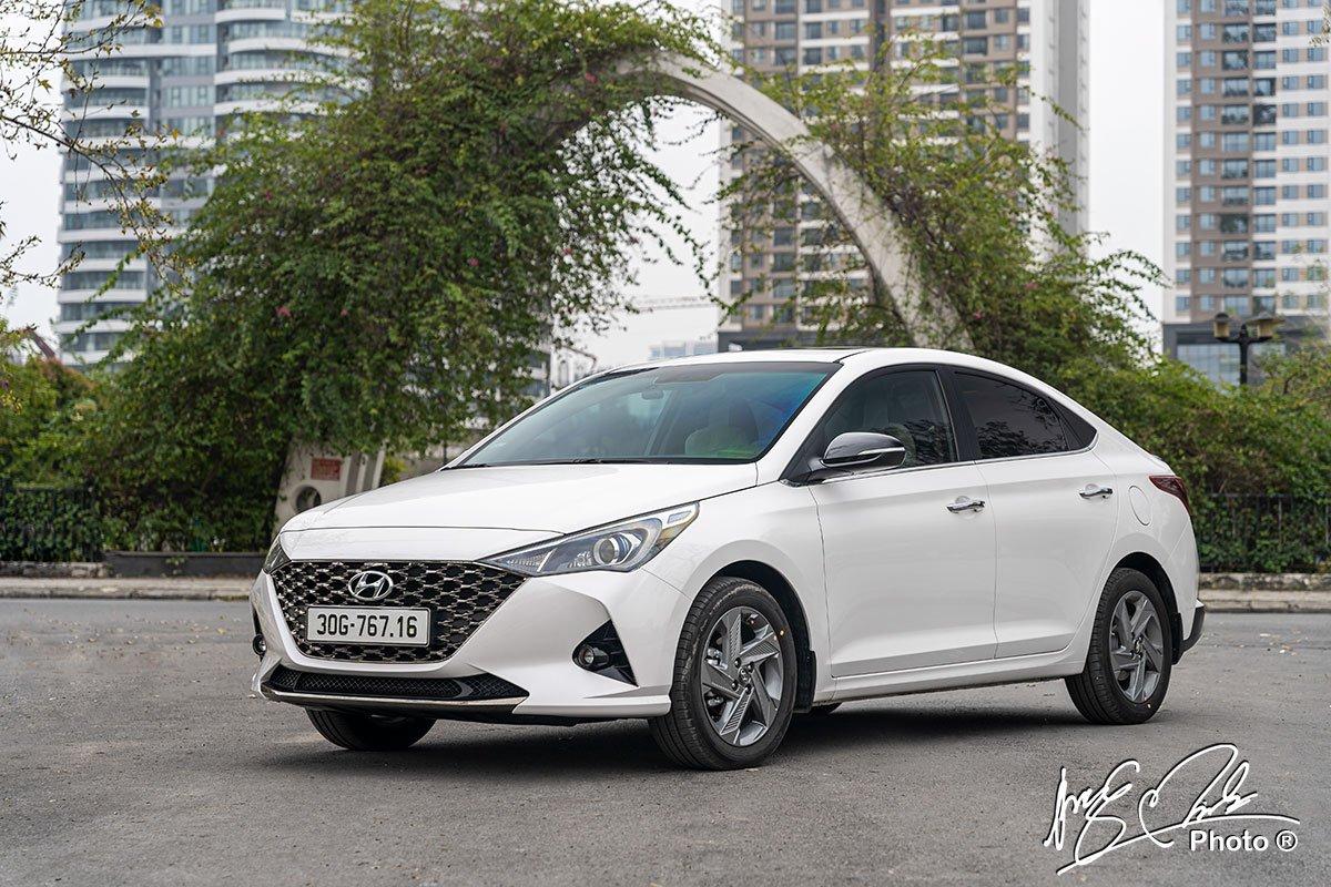Hyundai Accent 2021 đang bán tại Việt Nam 1