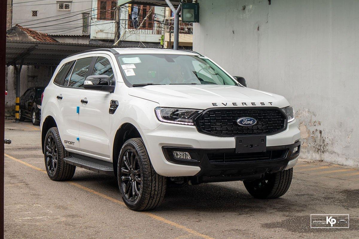 Ảnh Đầu xe Ford Everest Sport 2021